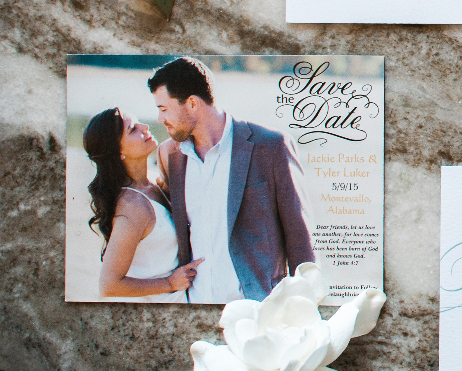 Save-the-Date – Fine Paperwork