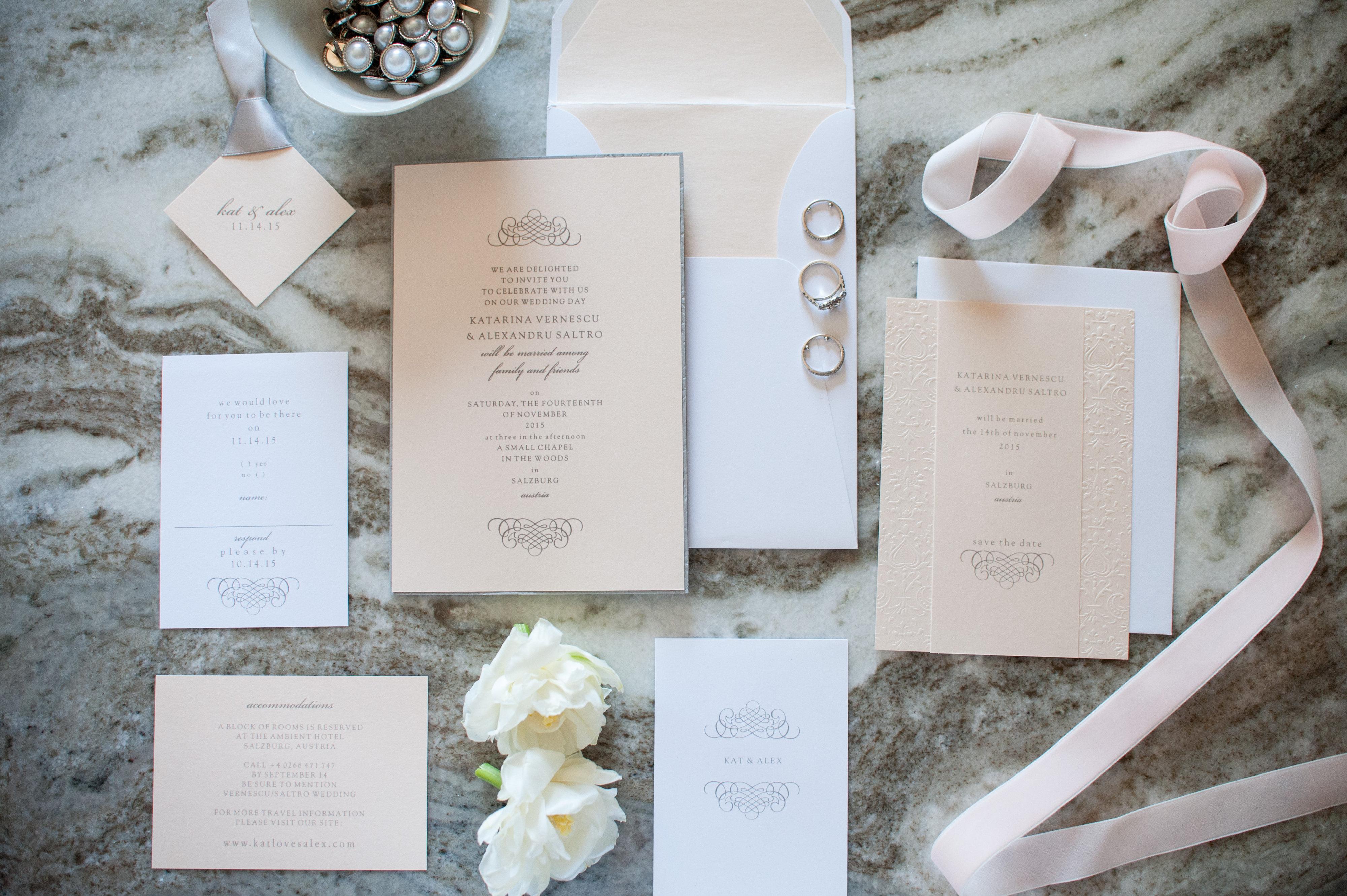 Wedding Invitation Suites – Fine Paperwork