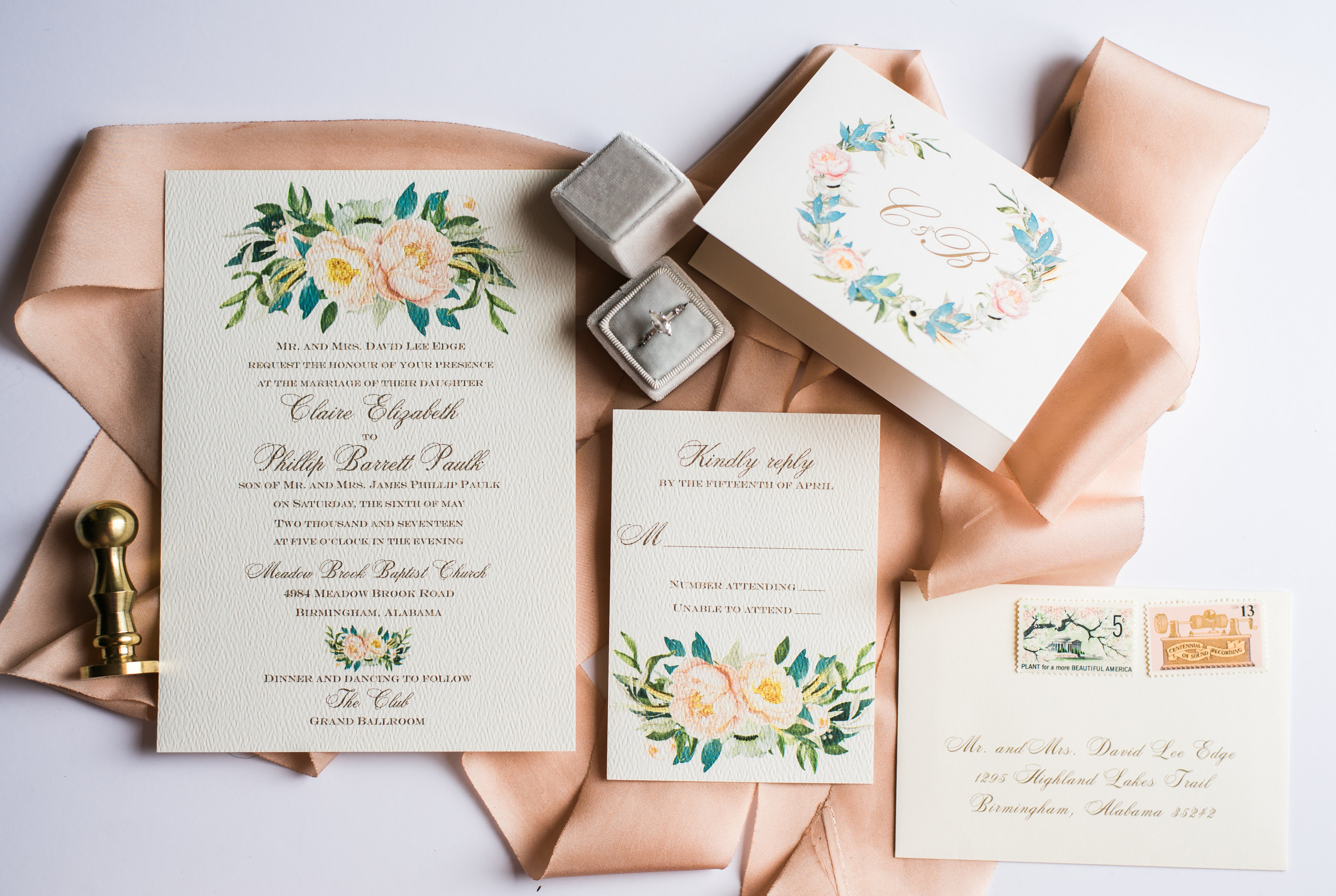Wedding Invitation Suites Fine Paperwork